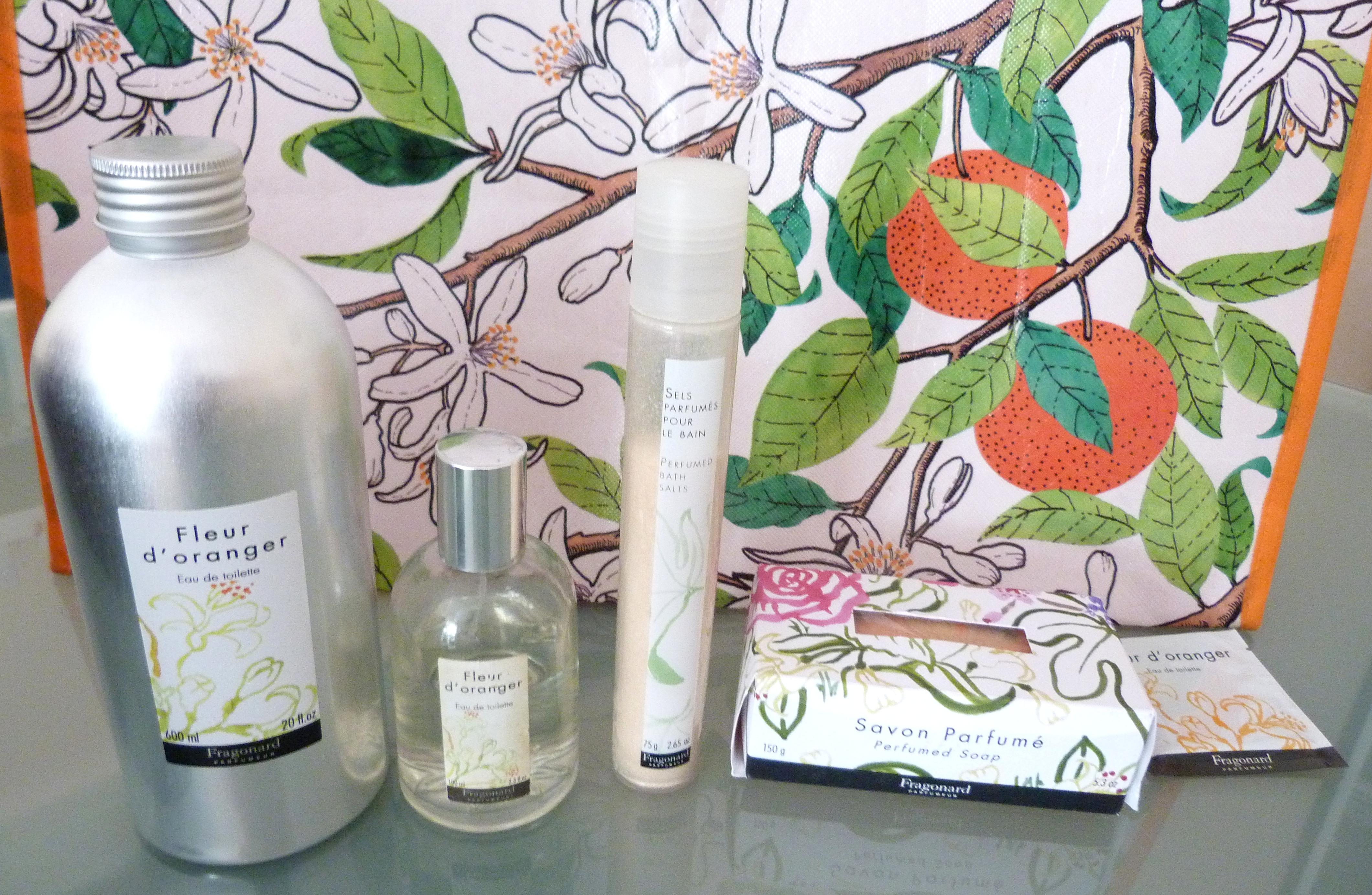 mon parfum fleur d 39 oranger de fragonard le blog de. Black Bedroom Furniture Sets. Home Design Ideas